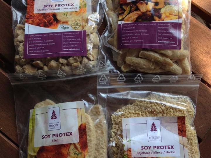 Gros plan sur : les protéines de soja Miigan