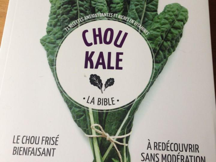 Chou kale, la bible d'Amelia Wasiliev aux éditions Marabout