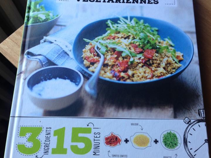 Recettes végétariennes : 3 ingrédients 15 minutes