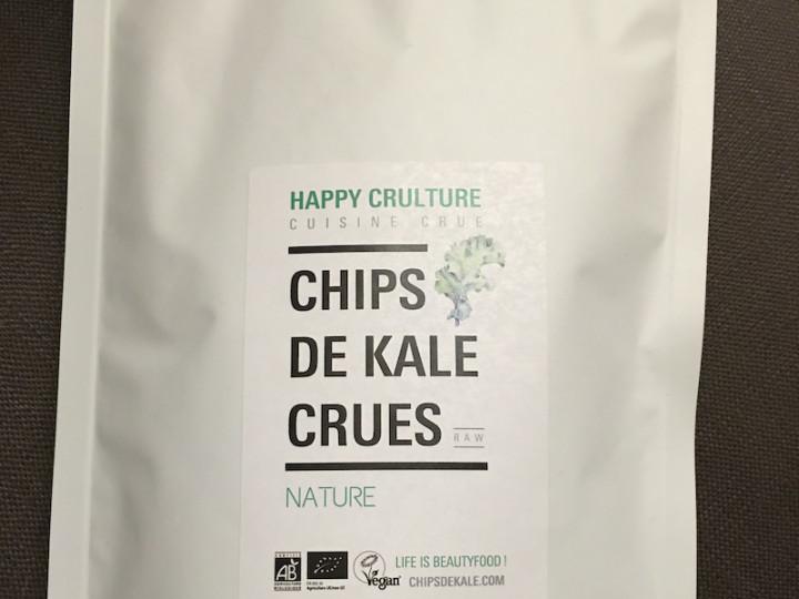 Les incroyables chips de kale Happy Crulture !