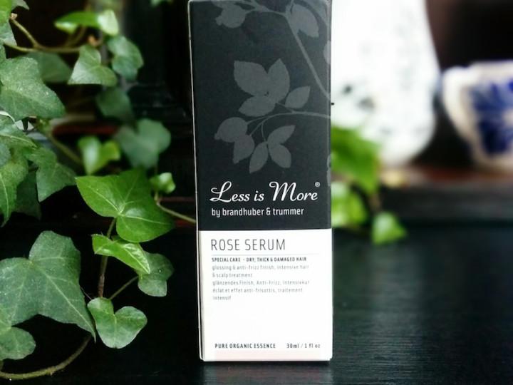 Less is More : sérum à la rose
