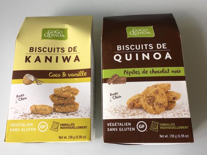 Biscuits Gogo Quinoa : la belle surprise québécoise