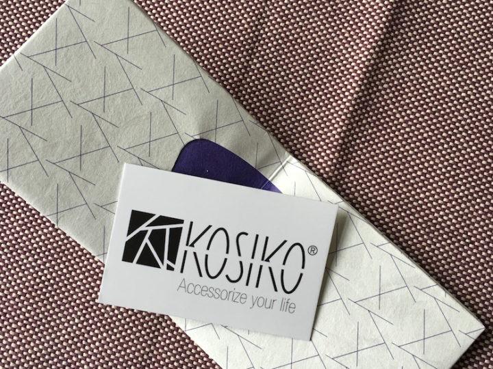 Kosiko : un portefeuille dans un matériau… révolutionnaire