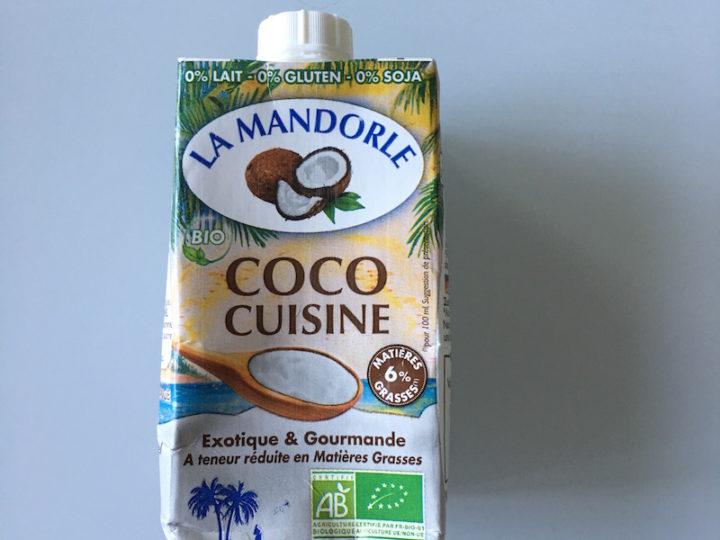 Coco cuisine La Mandorle pour nos desserts