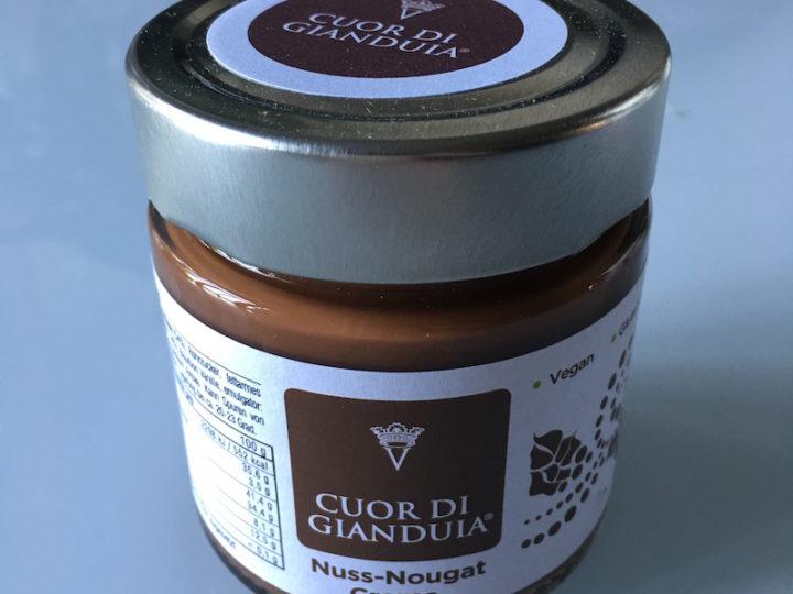 La pâte à tartiner chocolat-noisette Cuor di Gianduia