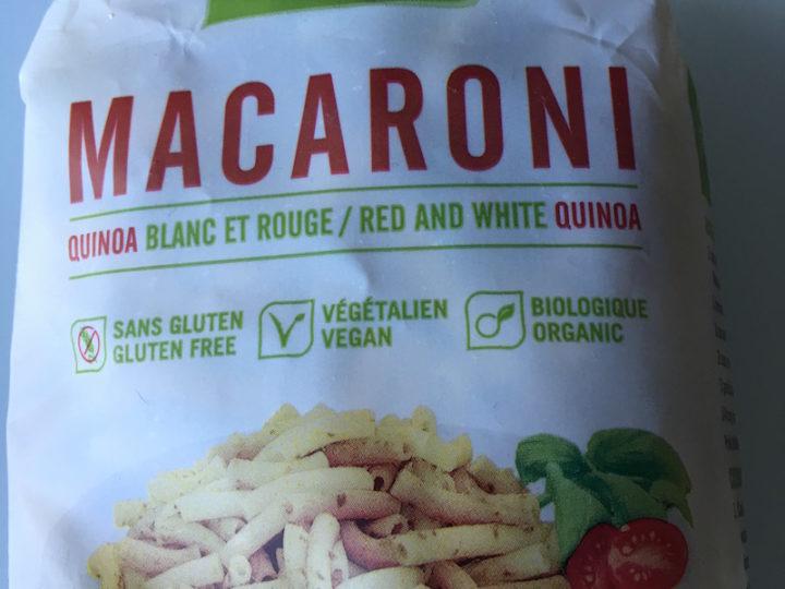 Gogo Quinoa fait d'excellentes pâtes sans gluten