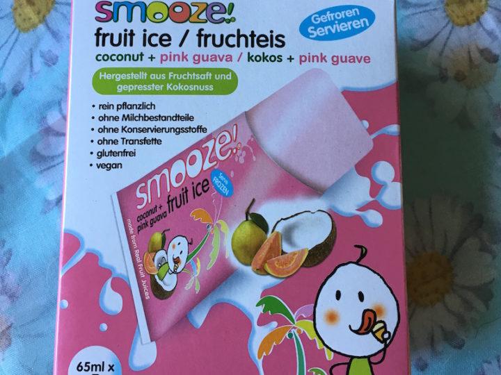 Smooze : les glaces de mini pouce