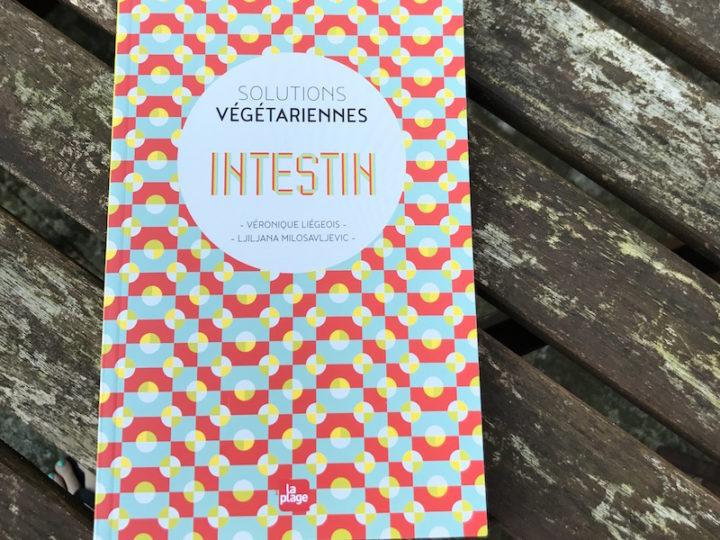 Intestin : solutions végétariennes aux éditions La Plage