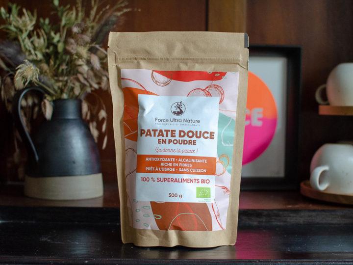 Découverte : la patate douce en poudre de Force Ultra Nature