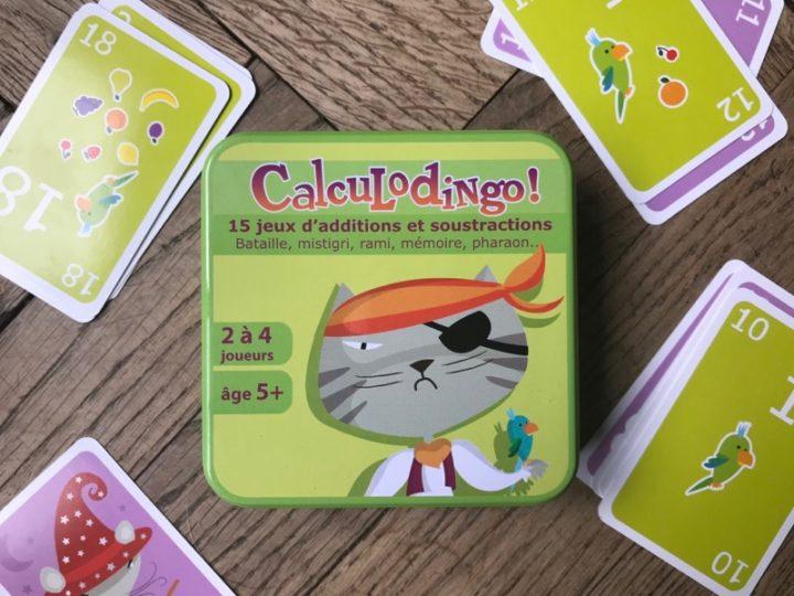 CalculoDingo pour jouer avec les chiffres