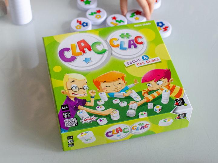 Clac Clac : le jeu de réflexe de Gigamic