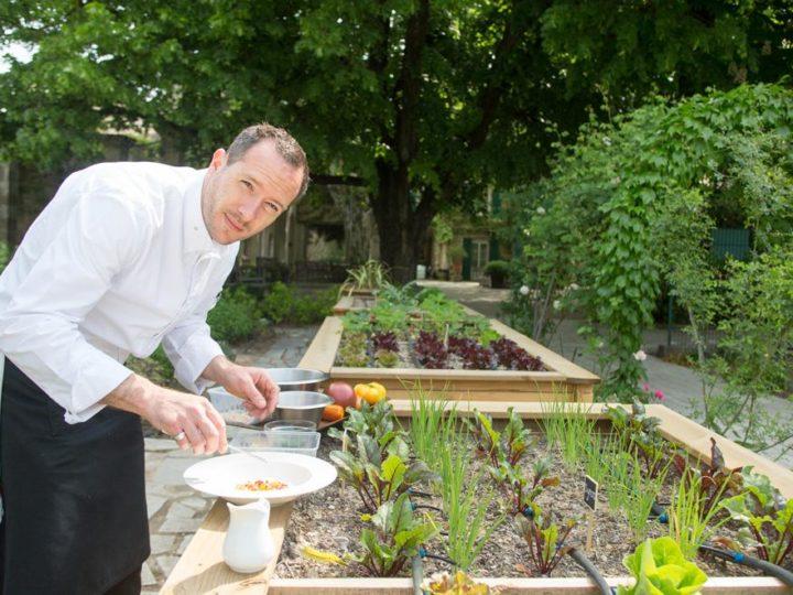 Interview végétale de Marc Fontanne, chef étoilé du Prieuré