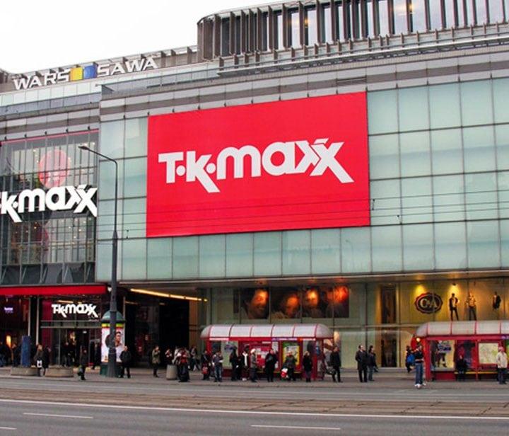 Reklama podświetlana na budynku, Warszawa