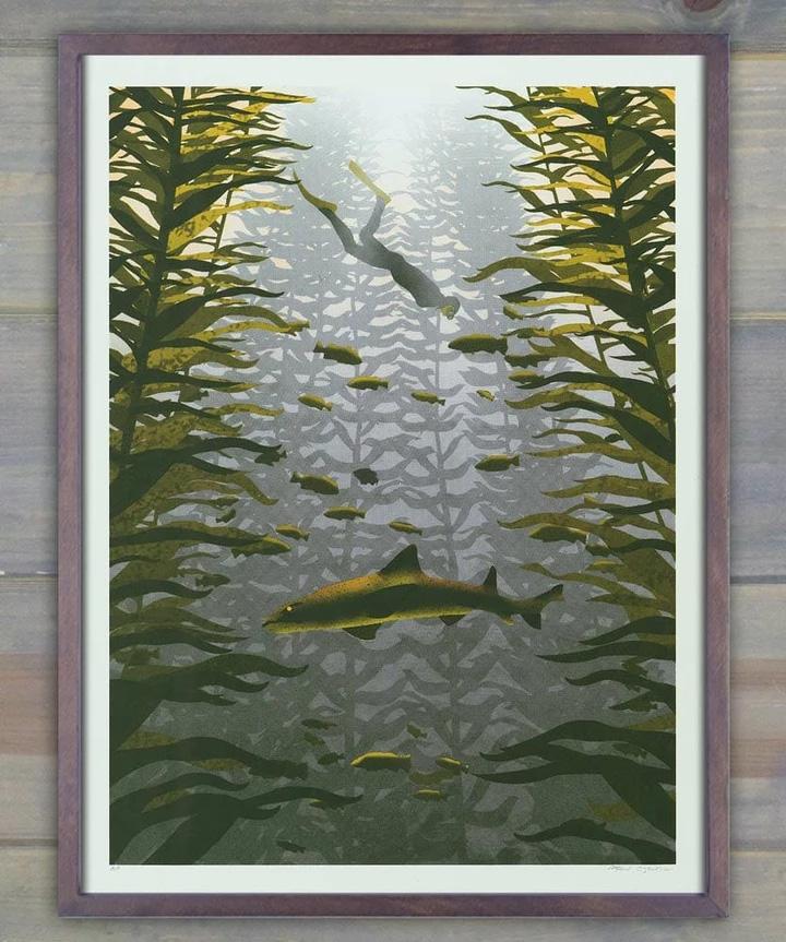 Arsenal Handicraft Kelp Forest Screen Print