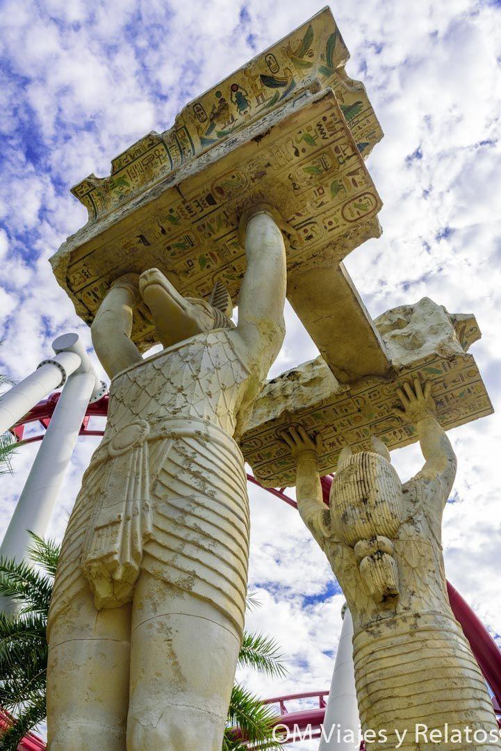 Atracción-Egipto-Universal-Singapur
