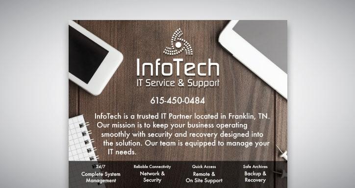 InfoTech - Print - Flier