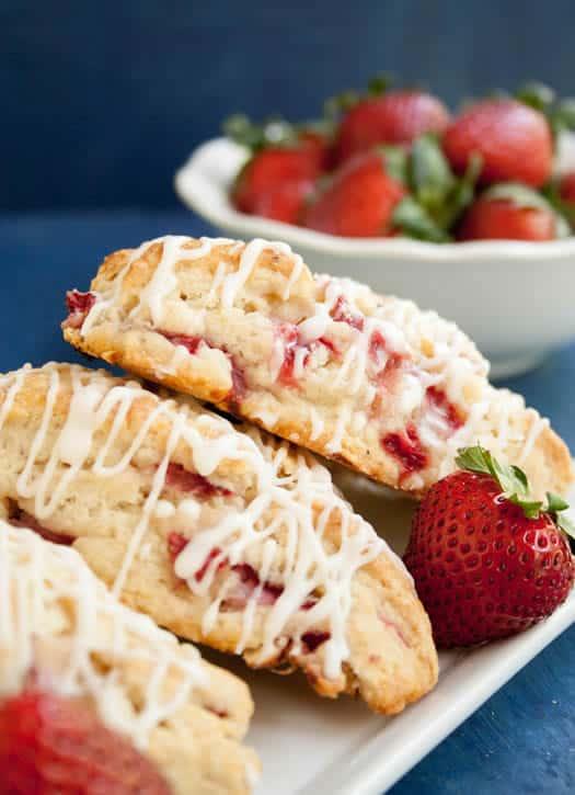 strawberry cream scones REV-4