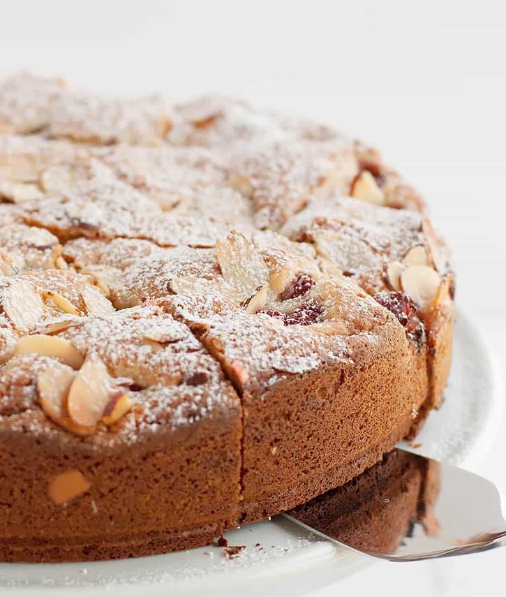 Raspberry Almond Cake 7