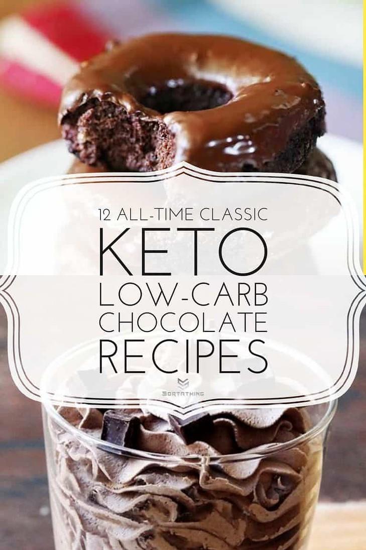 Keto Chocolate Donuts & Keto Chocolate Mousse