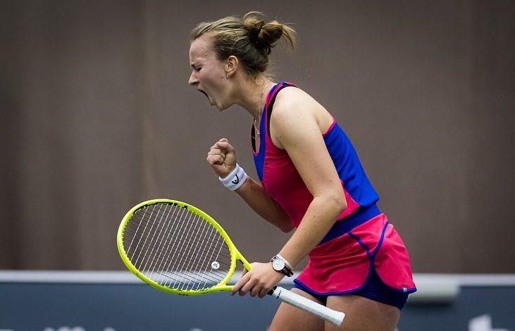 Krejcikova jugará su primera semifinal de un Gran Slam tras derrotar a Grauff
