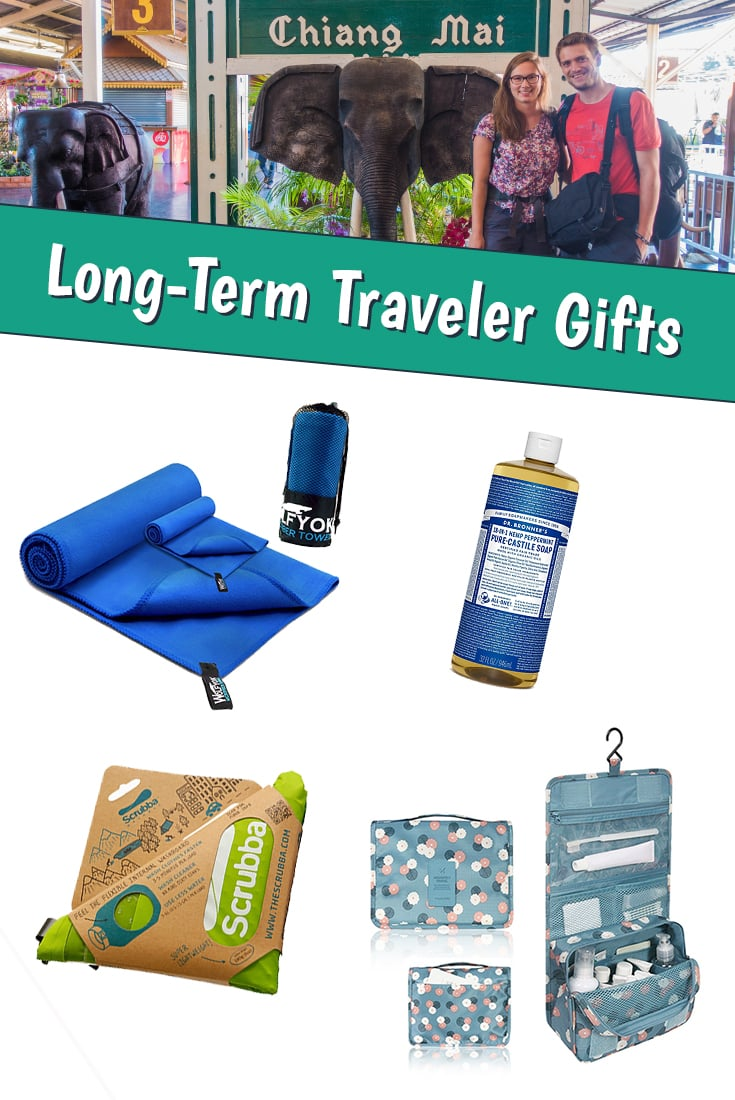 Travel Gift Ideas - Long-Term Traveler
