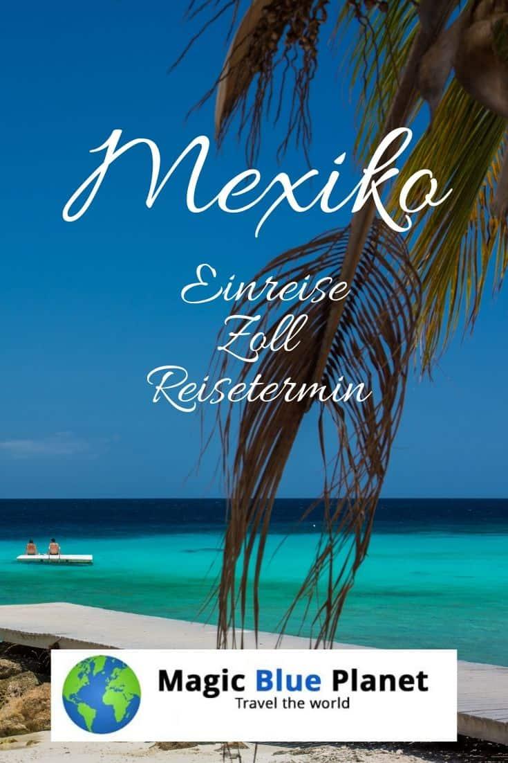 Mexiko Visum und Zoll - Pin 2
