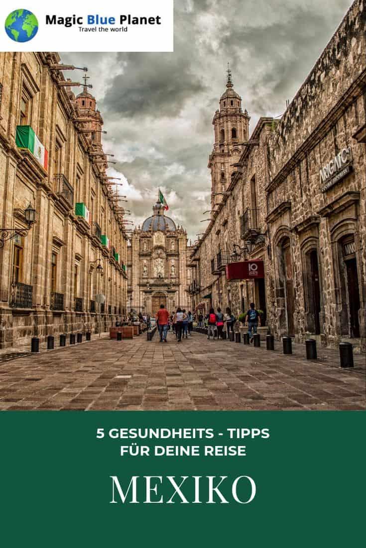 Gesundheits-Tipps für die Mexiko-Reise - Pinterest 3