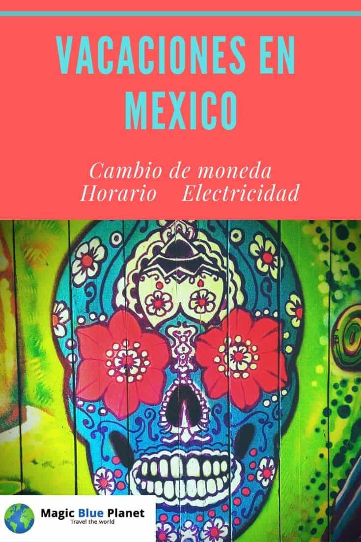 México horario, cambio de moneda y electricidad Pinterest 2 ES