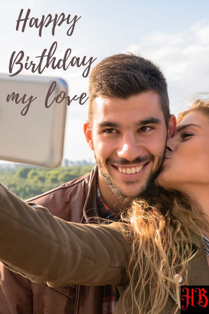 happy birthday message for boyfriend