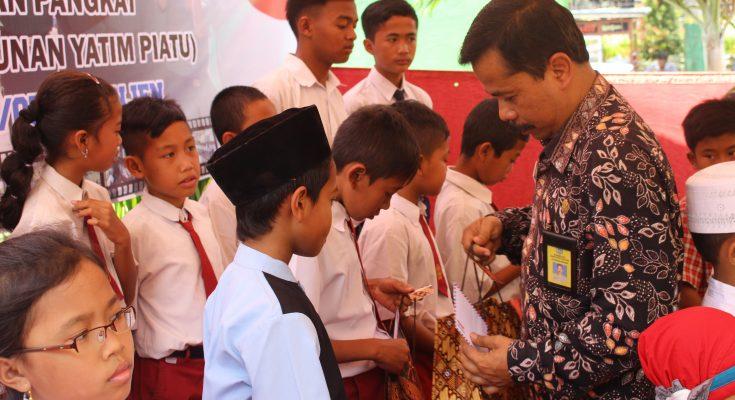 Sambut HUT TNI KE-70, KORAMIL V Kepanjen Gelar Santunan Yatim
