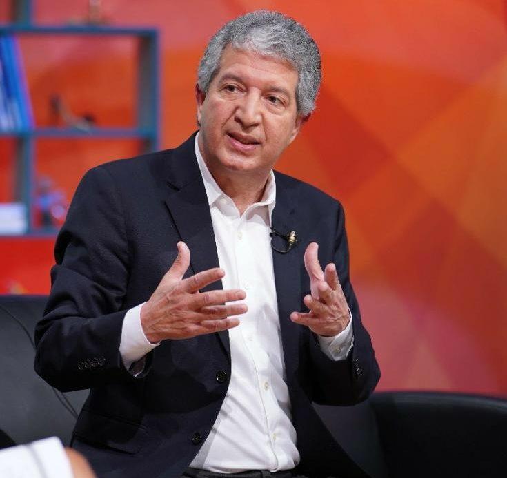 l presidente del Frente Cívico y Social, Isaías Ramos