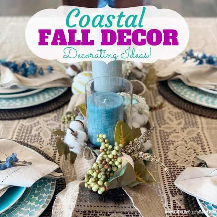 Coastal Fall Decor