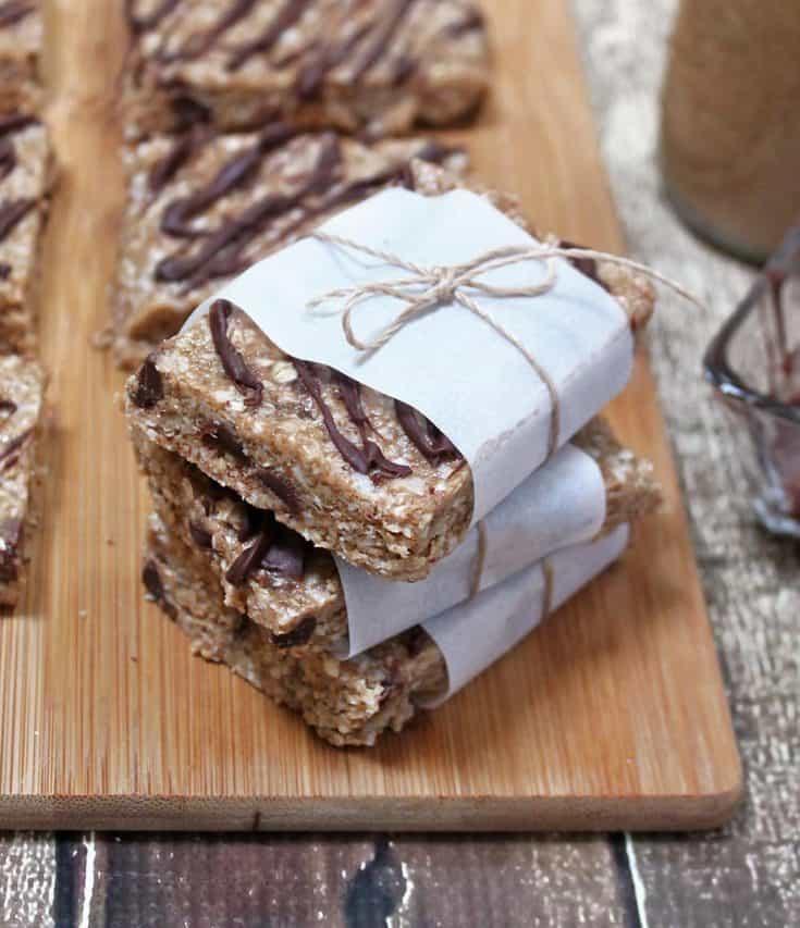 Almond Choconut Bars