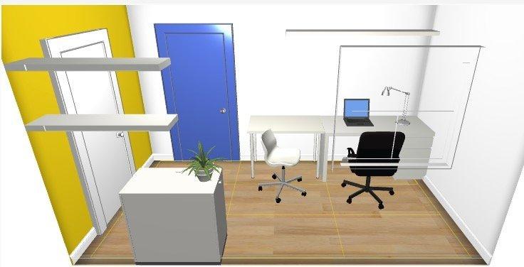 Affitto ufficio seregno giallo
