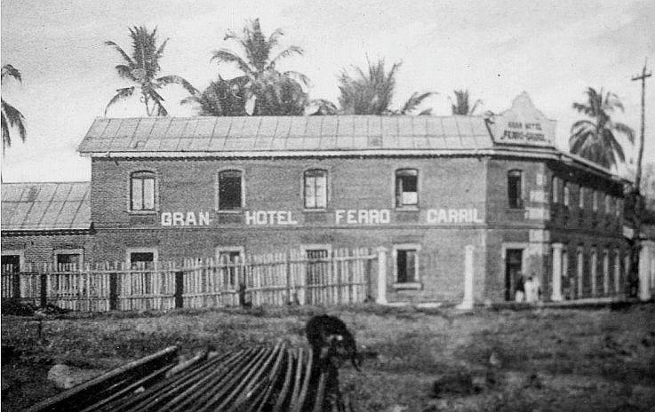 Hotel de la Estación del Ferrocarril de Escuintla