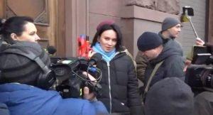 Звіробій покрила матами журналіста