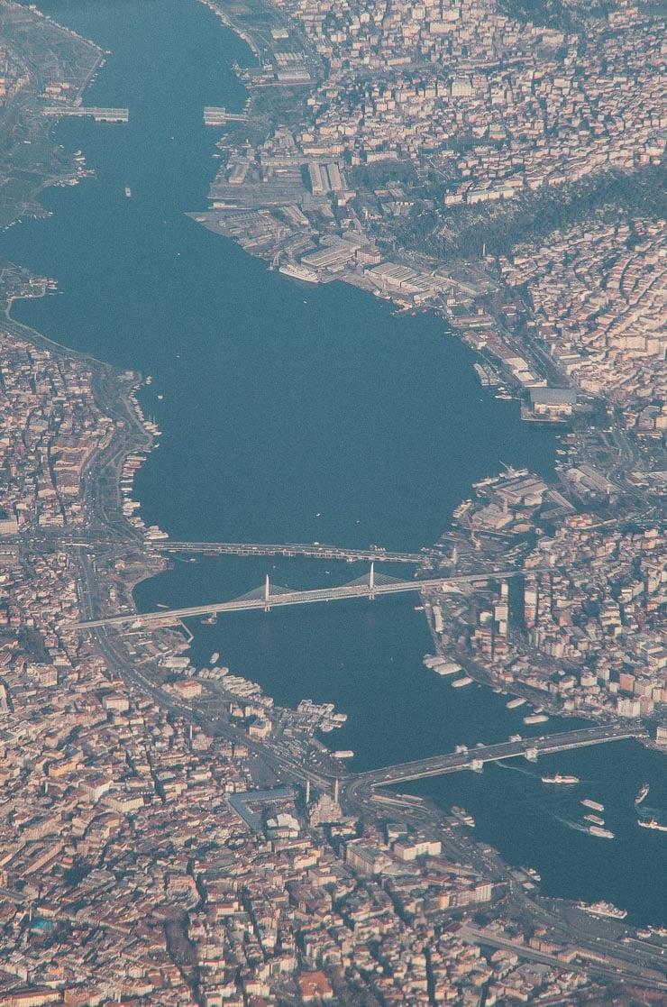 Mellemlanding i Istanbul.