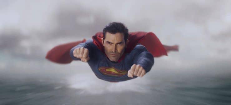 tyler hoechlin as superman in superman and lois