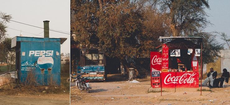 I 1990 var det Pepsi som dominerede men i 2014 var det Coca Cola, som havde fået overtaget markedet.