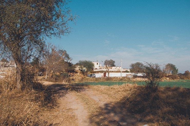 26. jan: Min mors landsby og det første hus man ser, er hendes gamle hjem, hvor hendes brødre og deres familier stadig bor.