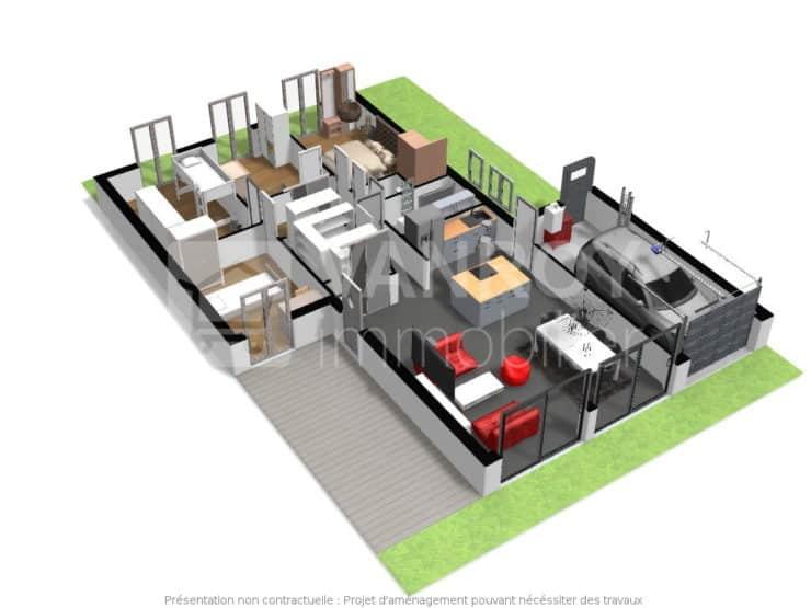 Exclusivité / Floirac – Plateaux  / Maison T5 à rafraîchir ou rénover