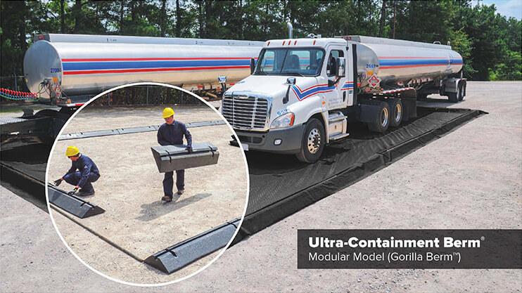 Truck Spill Containment Berm