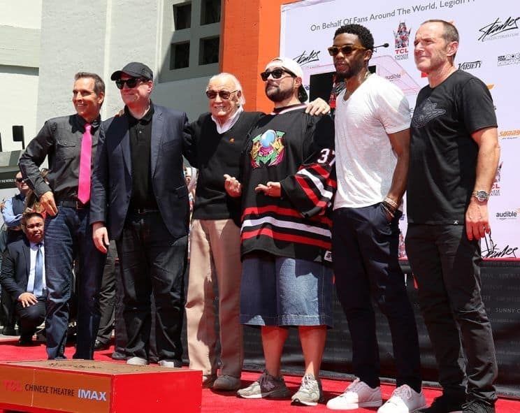 Image of Kevin Smith at Stan Lee Event.