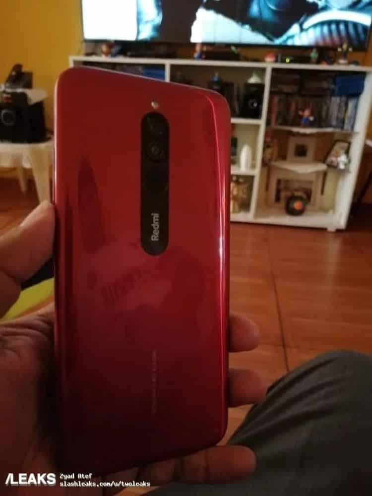 câmera do Redmi Note 8