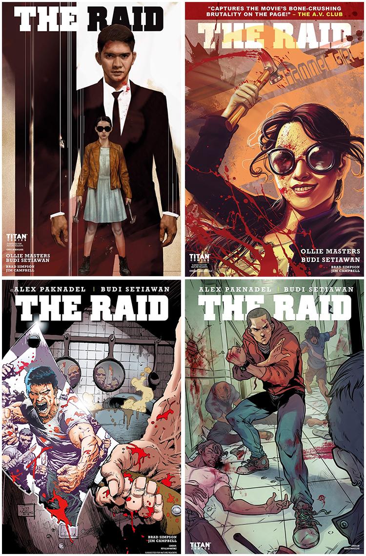 Review Komik The Raid (Titan Comics, 2018)
