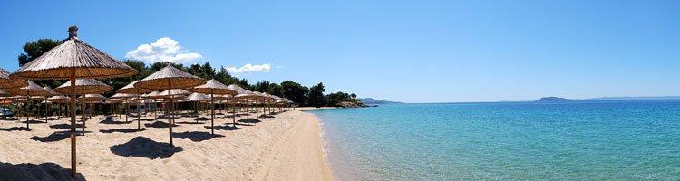 Badestrand in Griechenland