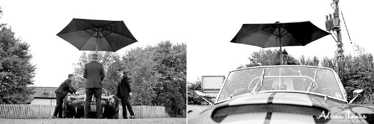 Ushers cover car