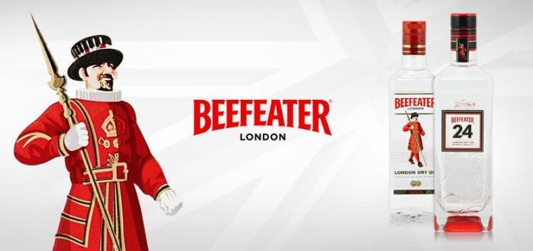 Beefeater csomagolás
