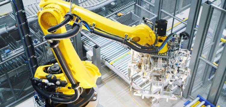 raklapképzés robottal