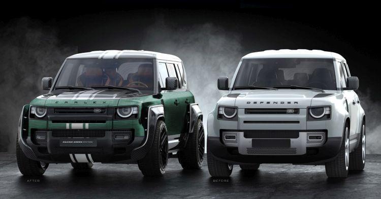 limitált Land Rover Defender